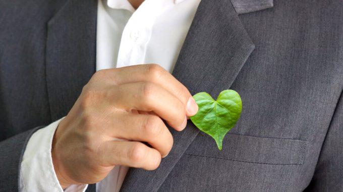 Empresario Preocupado Com A Sustentabilidade