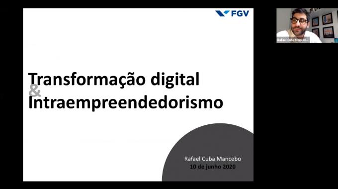 Webinar Rafael – Transformação Digital