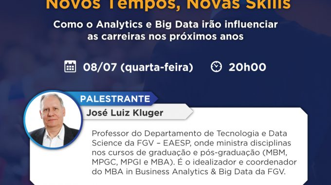 Aula Experimental Vai Abordar A Influência Do Analytics E Big Data Para O Futuro