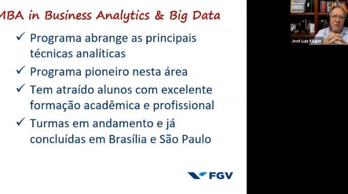 Futuro: A Influência Do Analytics E Big Data Estiveram Em Pauta Durante Aula