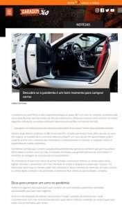 Covid-19: esse é um bom momento para comprar um automóvel?
