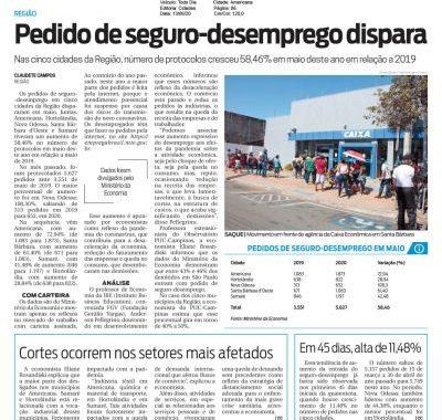 Seguro-desemprego Foi Pauta No Jornal Todo Dia