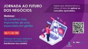 Webinar Jornada ao Futuro dos Negócios