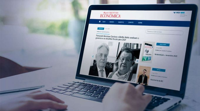 Revista Conjuntura Econômica Ganha Blog: Lançamento Marca Aniversário De 73 Anos Da Publicação